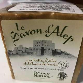 阿勒頗古皂12%月桂油(如購買附送皂網袋一個)