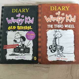 wimpy kid hardcover books