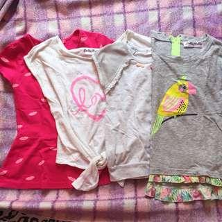 Girl's tops bundle