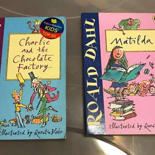Charlie and the Chocolate Factory + Matilda