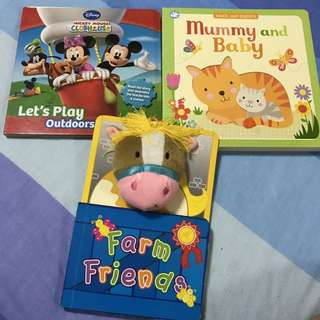 Assorted baby books