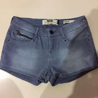 Bershka push up soft denim shorts