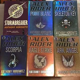 Alex Rider Series (first 6 books)