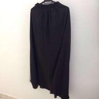 #Take10off Black Chiffon Skirt