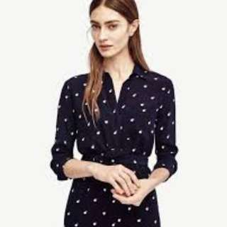 🚚 Double dot Shirtdress