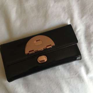 Mimco Black Signature Wallet