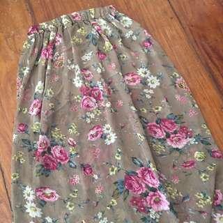Forever 21 Summer Long Skirt