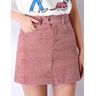 Bnwt Dusty Pink Skirt