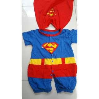 Preloved Toddler Superman Costume