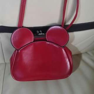 Red Mickey Hand Bag
