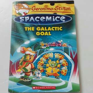 Geronimo Stilton Spacemice《The Galactic Goal》