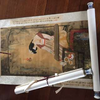 Chinese Scrolls of Paintings