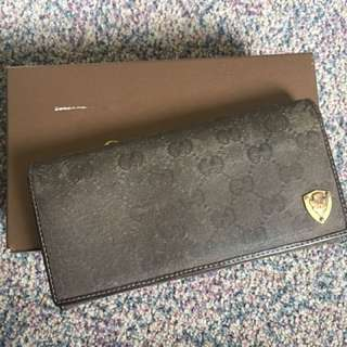 Authentic Gucci Canvas Wallet