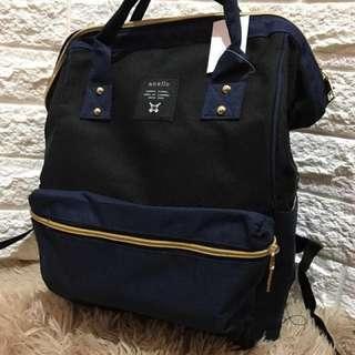 Anello Bag Bigsize BlackBlue