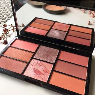 Freedom Makeup Pro Peach and Baked Blush Palette