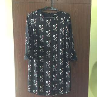 Zalora Printed belle dress