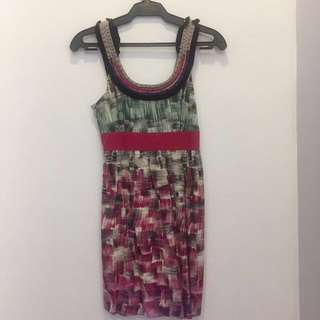 Forever 21 Multi-Colored Dress