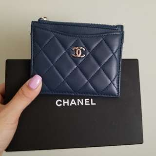 Chanel card case and coins bag