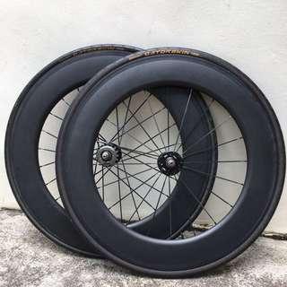 88mm Carbon Wheelset