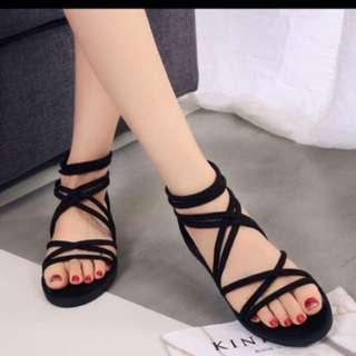 Criss criss sandals