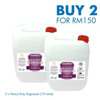 ON SALE - HEAVY DUTY DEGREASER (2 x 15drums)