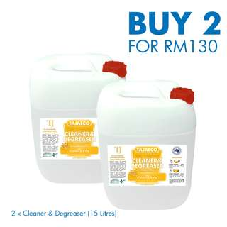 ON SALE - CLEANER & DEGREASER (2 x 15drums)