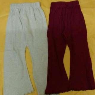 COMBO 4 PIECES Girl long pants 4 pcs