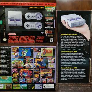 Brand New Mini Super Nintendo