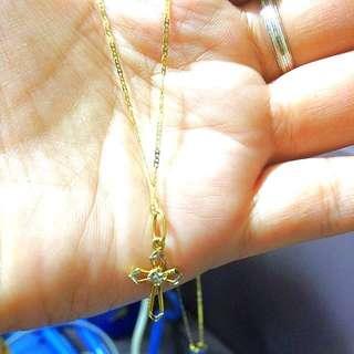 18K Saudi Gold Necklace (repriced)