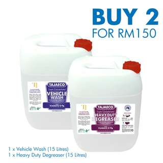 ON SALE - VEHICLE WASH & HEAVY DUTY DEGREASER
