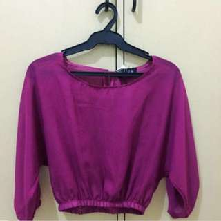 Willow Clothing Magenta Long Sleeves (S)
