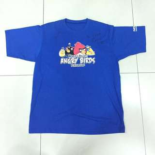 Nokia's World's Biggest Angry Birds Playground 2011 Signed Event Tee