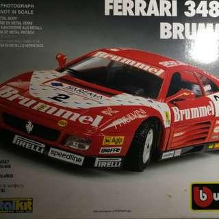 Burago metalkit Ferrari 348 model