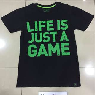 """Razer """"Life Is Just A Game"""" Tee #take10off"""