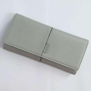 MINISO double long wallet (Grey)