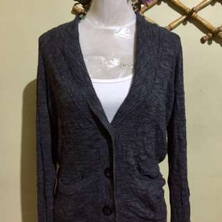 🌈Mossimo dark Gray Knit Cardigan