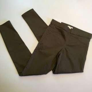 H&M Army Green Jegging