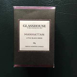 Glasshouse Triple Scented Manhattan Candle