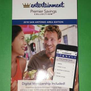 """Entertainment """"2018"""" Limited Edition Coupon Book"""