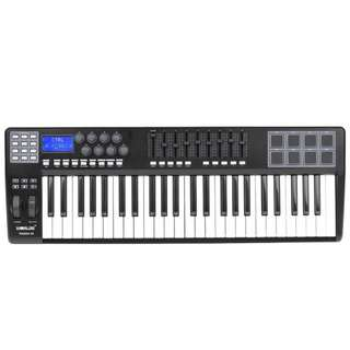 49 Keys Keyboard Piano with Drum Pads & Controller