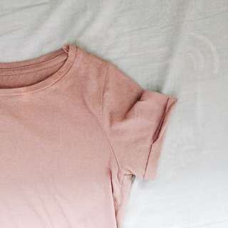 STRADIVARIUS: PINK CROPPED SHIRT