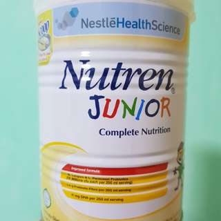 Unopened - Nutren Junior - lactose and gluten free