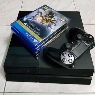 Ps4 500gb + 3 games #Take10off