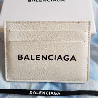 BALENCIAGA 'Everyday Card Holder' (White)
