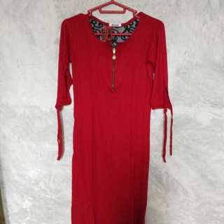 Bodycon red