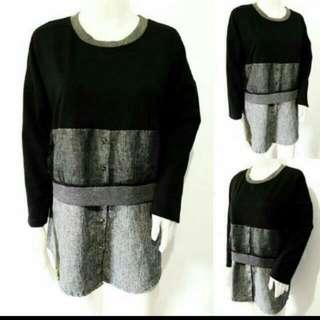 Layered Style Sweatshirt