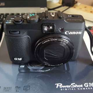 Canon G16 with WiFi
