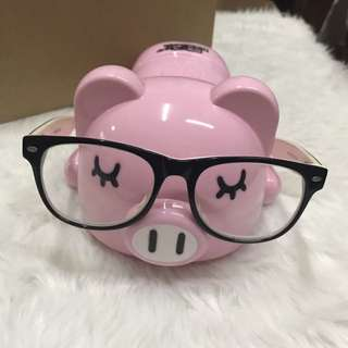 Eyeglass Holder and Piggy Bank