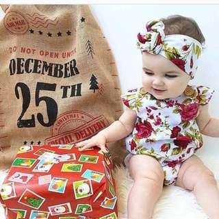 *PRE-ORDER Baby Girl Clothing Set
