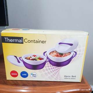Pinnacle 2 pcs set thermal container